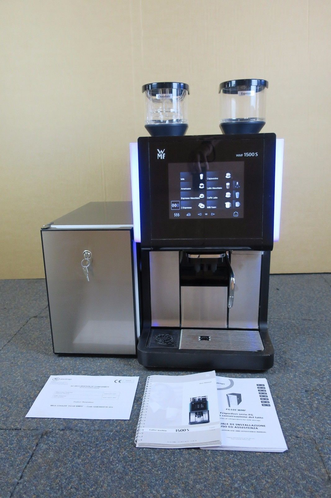 2015 Wmf 1500s Automatic Espresso Bean To Cup Coffee Combo