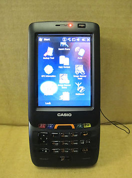 Casio It 800rgc 35 Rugged Industrial Barcode Scanner
