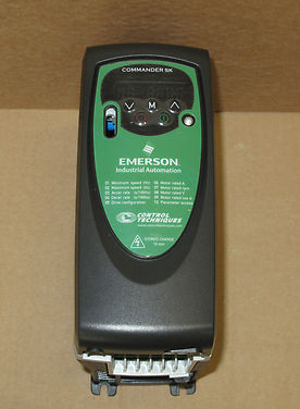 Emerson commander sk skb3400037 variable speed 3 for 3 phase motor speed control
