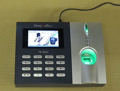 Fingertec Ta100c Fingerprint Biometric Time Management