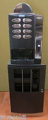Kenco Colibri Bean To Cup Automatic Coffee Hot Drink Machine Coin Operated Black