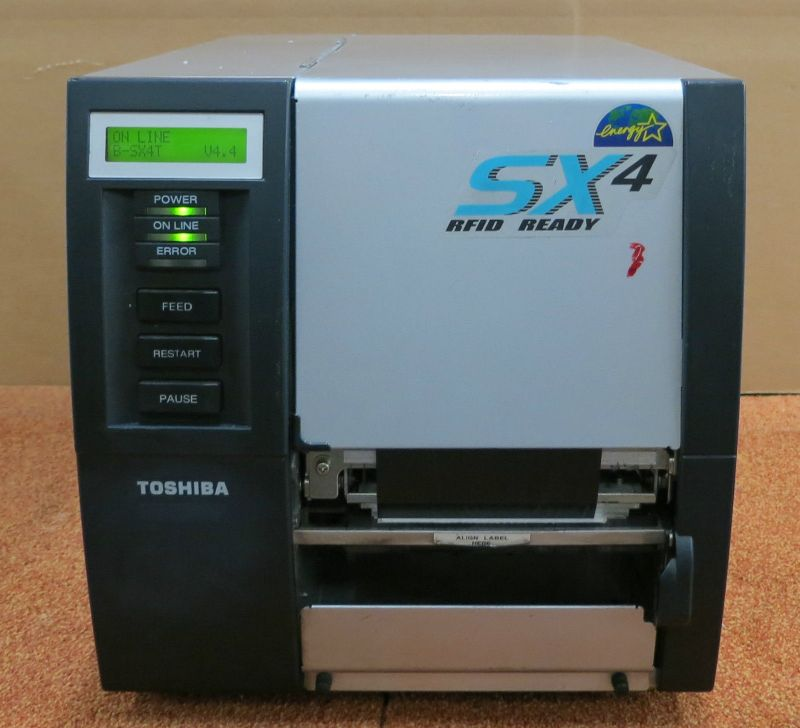 Toshiba Sx4 Rfid Ready Thermal Transfer Barcode Label