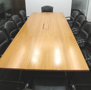 Vitra Medamorph Teak Designer Boardroom Conference Table