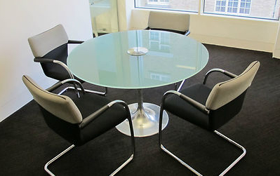 Vitra Visastripes Cantilevered Designer Chair Meeting Room