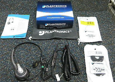 12 x NEW Plantronics SupraPlus Telephone Phone Wired Headset  - 36829-04