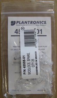 20 x Plantronics Modlocs Pack Of 25 45588-01