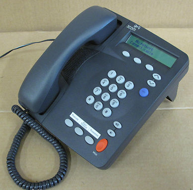 3COM 3C10248B NBX 2101 Basic IP Phone Charcoal Black,Office Equipment