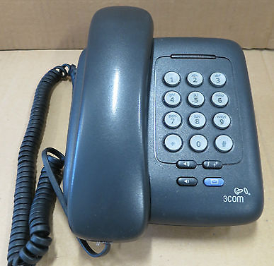 3Com 3C10399A 3100 Entry SL Phone VoIP PoE Business Telephone