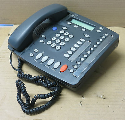 3Com NBX 2102 3C10226PE VoIP IP Business Phone Charcoal Gray With Handset
