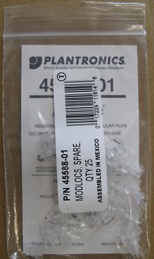 5 x Plantronics Modlocs Pack Of 25 45588-01