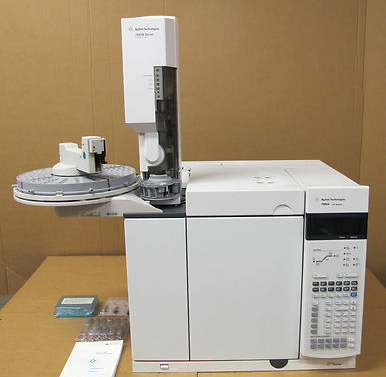 Agilent Technologies 7890A GC FID System Gas Chromatograph Laboratory Equipment