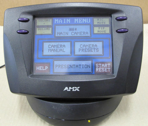 AMX VPT-CP ViewPoint Colour Touch-Screen Multimedia Controller With Base + P/S