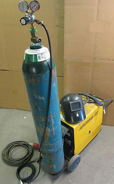AROMIG III Combi Mig III-16 Mig Welder BOC Compressed Gas Face Shield