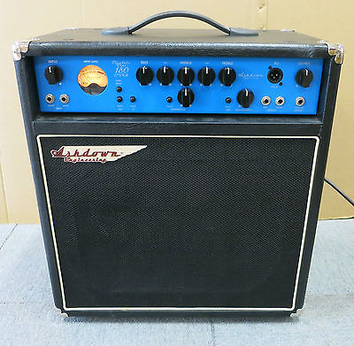 Ashdown Engineering Electric Blue EB12 180 Evo II Combo Bass Amplifier, EB12