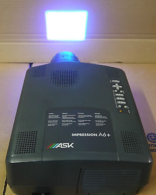 ASK Impression A6 3LCD Projector Home Cinema Office Presentation