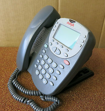 Avaya 5410 LCD IP Digital Corded Phone Telephone P/N 5410D01B-2001 With Stand