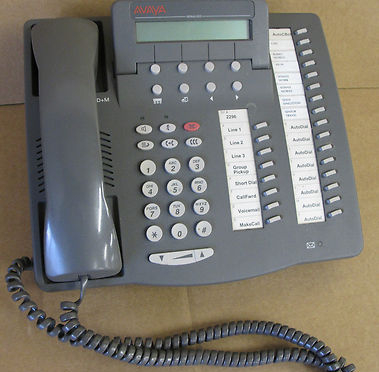 Avaya 6424D+M Digital Corded Telephone Phone & Answering Systems