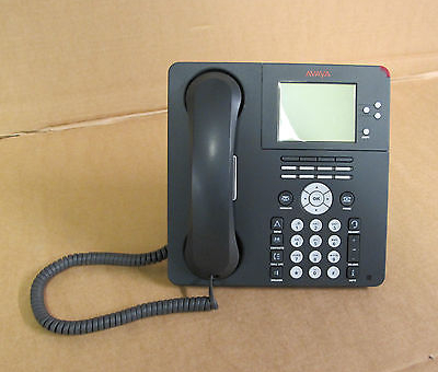 Avaya 9650 LCD Display Voip IP Digital Charcoal Desk Office Telephone 9650D001A