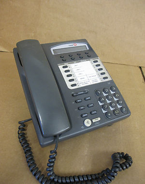 Avaya  Lucent 9410D Voice Terminal Grey Display Business Phone Handset