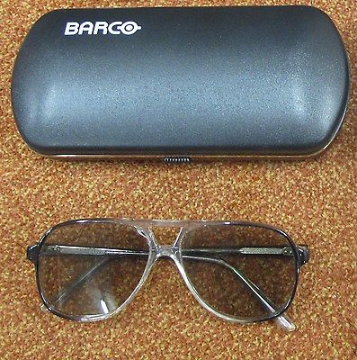 Barco CIRC II High-Quality Circular Stereoscopic Projection Glasses 3D Vision