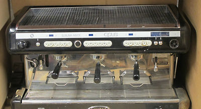 Brasilia Opus Sublima Inside 3 Group Tall Cup Espresso Cappucino Coffee Machine