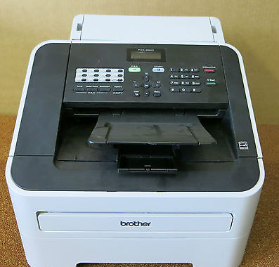 Brother FAX-2840 High Speed Mono Laser Fax Machine Very Low Print Count *447*