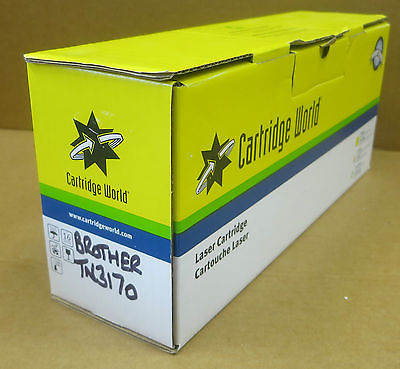 Cartridge World Replacement Black Toner Cartridge for Brother TN3170 Printer