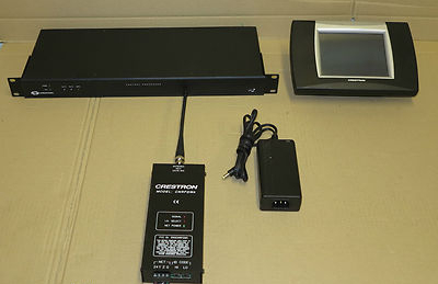 Crestron ST-1700C Touch-Screen Multimedia Controller And CP2 Processor Unit