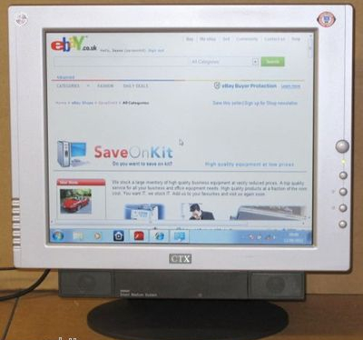 CTX PV720a 17 Inch TFT active matrix LCD display