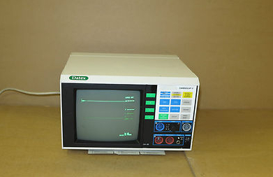 Datex Cardiocap II 2 CH-2S-22-04 Patient Monitoring Unit, BP Heart  Vital Signs