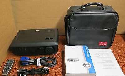 Dell 1210S Digital DLP Portable Projector Contrast 2200:1 K98J8 With Remote