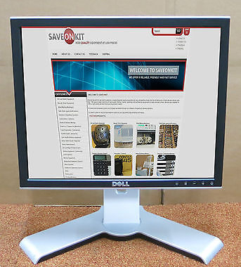 "Dell 1707FPt 17"" 17 Inch LCD TFT Flat Screen Computer PC Monitor Display CC282"