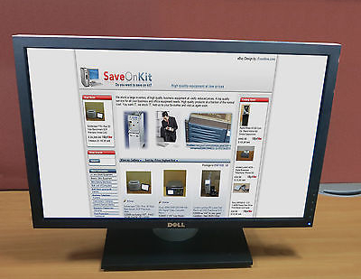 "Dell P2210f 22"" Widescreen LCD Computer Flat Screen PC TFT Monitor"