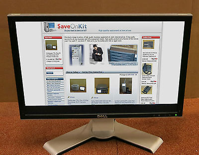 "Dell UltraSharp 2208WFPt 22"" LCD Computer Flat Screen PC TFT Monitor G456H"