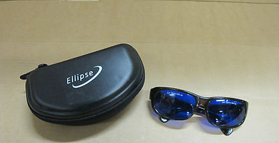 Ellipse Stylish Design Safety Glasses Eyewear Laser Protection Laboratory Beauty