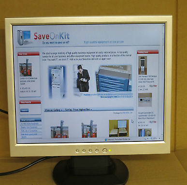 "F179L-X1 Model F179, 17"" TFT LCD Monitor  Free UK Delivery"