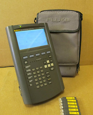 Fluke 686 Enterprise LANMeter 10/100 Ethernet/Token Ring WAN LAN Testing