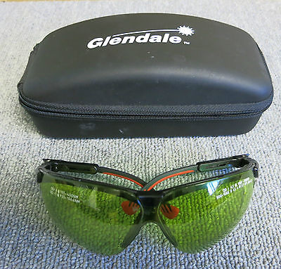 Glendale 31-80137 Lazer Safety Glasses XC High Transmission Lime Colour