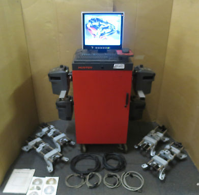 Hunter S411 WinAlign Compterised Vehicle Car 4 Wheel Alignment Geo S411M System