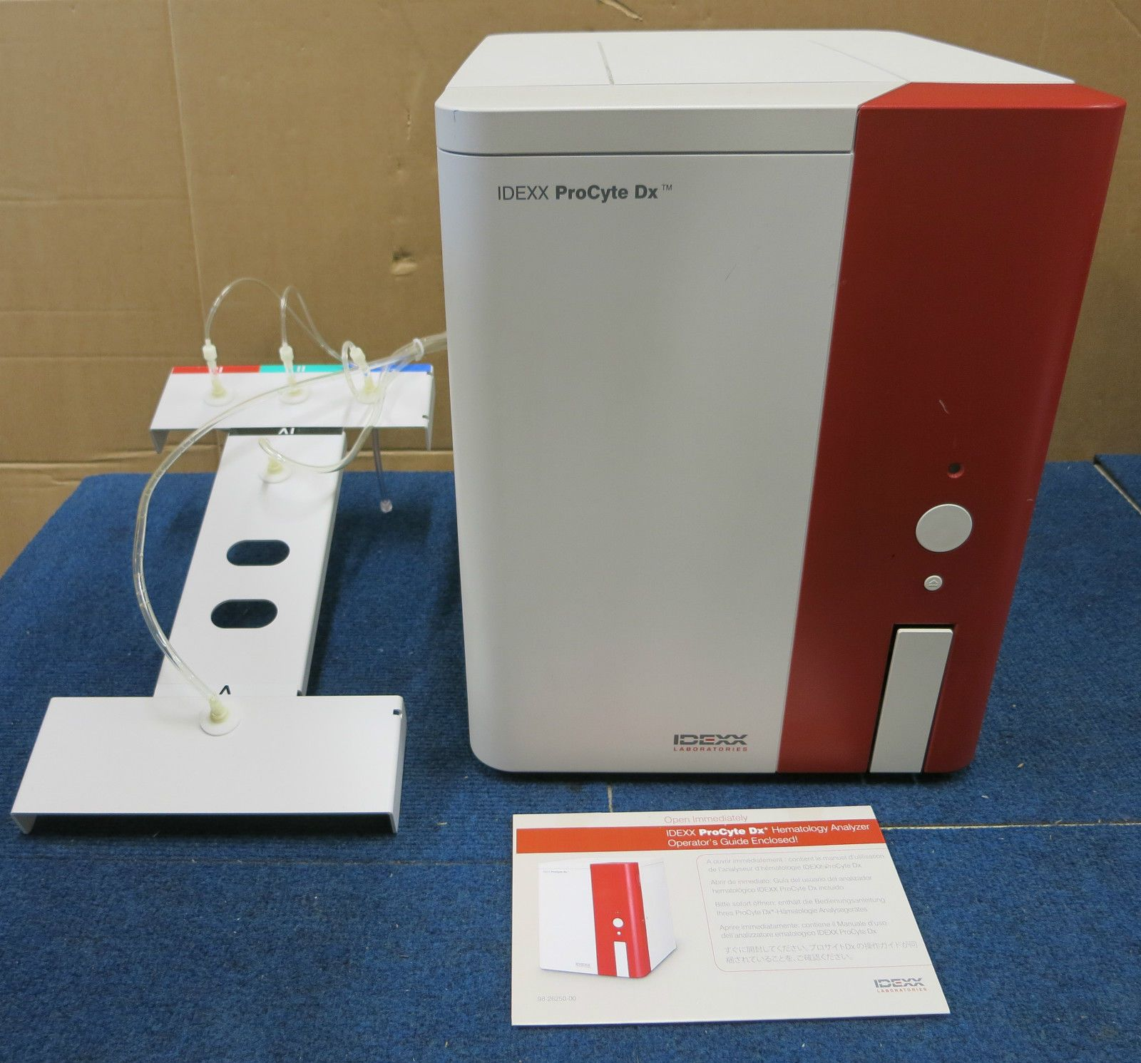 IDEXX Procyte DX Haematology Analyser Veterinary Laboratory