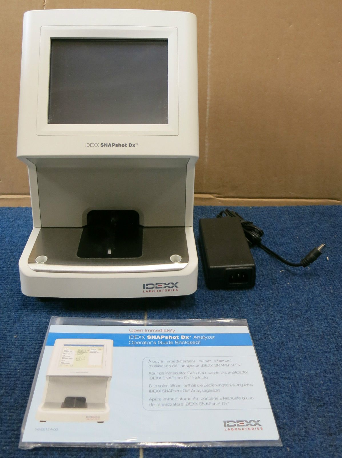 IDEXX SNAPshot DX Analyser Veterinary Laboratory Animal