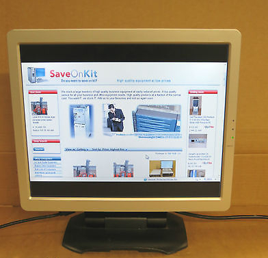 Ingram WL17A 17'' TFT LCD Monitor 1280 x 1024 Audio TCO'99 Silver / Black