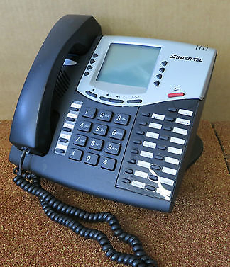 Inter-Tel Axxess 550.8662E 8662 VOIP Phone IP Telephone HAC - Black / Silver