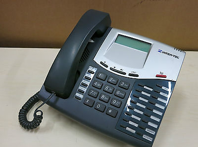 Inter-Tel Axxess 8520 2 Line LCD Display Business Telephone - P/N 551.8520-002
