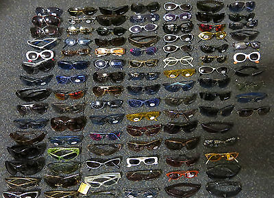 Joblot 100 x Seen, UV Adult Designer Sunglasses Cat 1-3