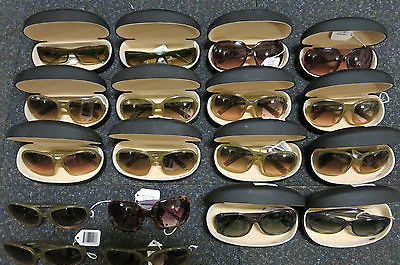 Joblot 18 x Bebe Designer Sunglasses + 14 Bebe Cases