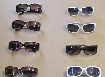 Joblot 55 x Azure,UV Protective Cat 3 Adult Designer Sunglasses,Optical Frames