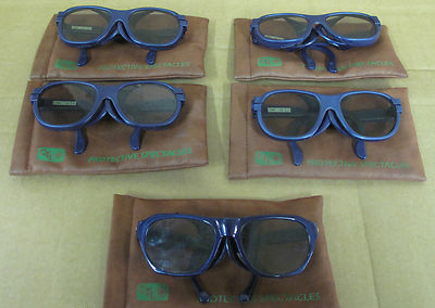 Joblot 5xCTL 2100 Series Laser Safety Glasses,Wavelength 585,Optical Density L6