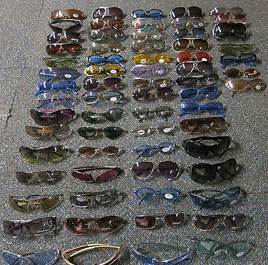Joblot 67 x Seen, UV Adult Designer Sunglasses Cat 0-3
