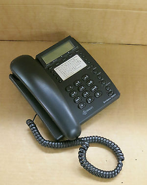 KPN Telecom Bordeaux 100HV LED Display Corded Telephone Black